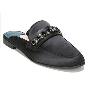 Libby Edelman Embellished Piper Mules Sz 9
